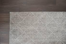 bamboo silk diamond rug