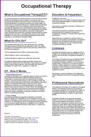 Essay Template Lovely Occupational Therapy Essay Ot Resume Twenty