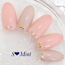 ネイル 大人 可愛い ピンク
