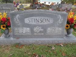 Edna Lenora Stinson Stinson (1924-1992) - Find A Grave Memorial