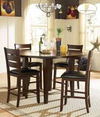 homelegance 586 36rd ameillia counter height dining table set
