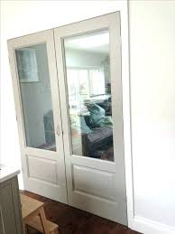 stained glass interior french doors stained