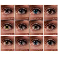 Freshlook Lenses Colors Chart Freshlook Colorblends 2 Lens Box