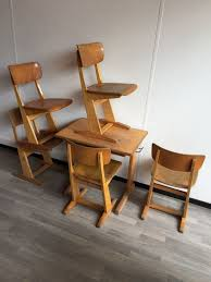 vintage school chairs. Fine Vintage Carl Sasse For Casala  Party Vintage School Chairs 5  Table  And Vintage School Chairs I