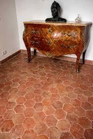 rustic terracotta hexagon 150x150x10mm walls floors