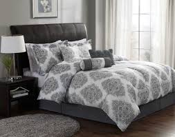 white and gray bedding sets comforter sets awesome
