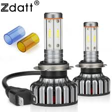 <b>Zdatt</b> LED Car <b>Lights</b> H7 Led Canbus 12000Lm 100W H7 Headlight ...
