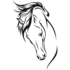 Horse Head Coloring Pages To Print Horse Head Coloring Pages Page