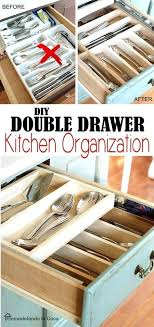 kitchen drawer organizer ideas diy kitchen drawer organizer ideass