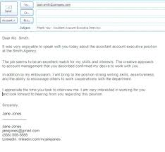 Job Fair Thank You Email Ideas Of Letter After Career Subject Also
