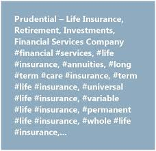 Long Term Life Insurance Quotes Stunning 48 Prudential Term Life Insurance Quotes Online Quotesbae Prudential