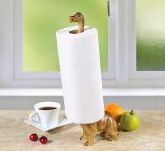 Dinosaur Paper Towel Holder and Toilet Paper Holder