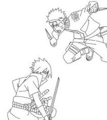 Naruto And Sasuke Coloring Pages Unique Lineart Chibi S Doiteasyme