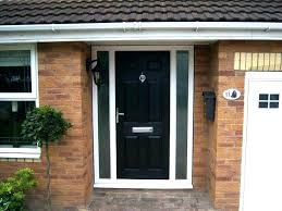 front door with side glass panels upvc front door with glass side panels