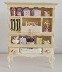 minature doll house furniture. dolls house miniature easter shabby cottage dresserhutch 6800 via etsy minature doll furniture e
