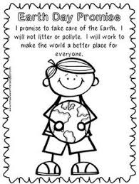 first grade science earth day coloring pages