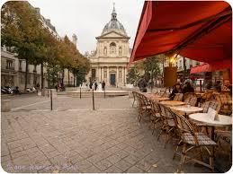 chapelle de la sorbonne. Place De La Sorbonne And Chapelle Sorbonne. The Chapel Was Built In 17th. Is Lined With Cafés Shops.