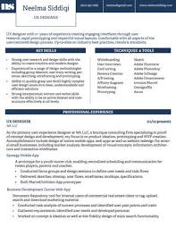 User Experience Designer Resume Cool Neelma Siddiqi UX Resume By Neelma Siddiqi Issuu