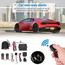12V One-Way Car Vehicle Universal Alarm System ... - Amazon.com