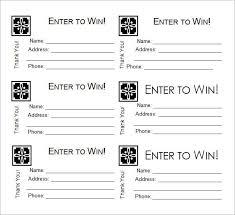 Draw Tickets Template Draw Tickets Template Under Fontanacountryinn Com