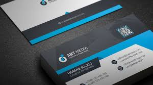 Simple Visiting Card Design Free Download Business Psd