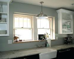 hanging light over kitchen sink drop light light above kitchen sink pendant light above sink pendant