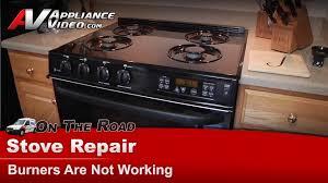Gas Range Repair Service Gehotpoint Rca Gas Stove Repair Burner Is Not Working