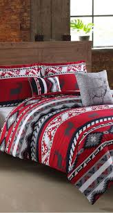 a cozy bed set that boasts rustic appeal ruff hewn ski lodge comforter set bedroomravishing aria leather office