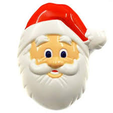 santa claus face images. Delighful Claus ACME Santa Claus Face Refrigerature Magnet Clip That Sings U0026quotHo  Hou0026quot  With Images O