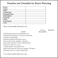 Free Event Planning Templates Event Planning Template Free