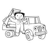 Small Picture Coloring pages Bob The Builder