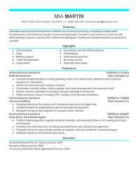 Modern Job Resume Samples Administrative Assistant Celoyogawithjoco Impressive Best Resume For Executive Assistant