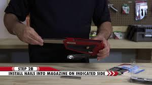 how to load arrow s t50r e d staple gun and brad nailer arrow fastener