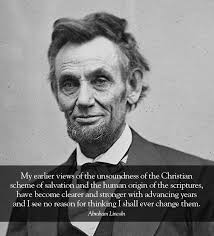 Abraham Lincoln Quotes On Slavery Custom Abraham Lincoln Quotes About Atheism And God Pinterest Abraham