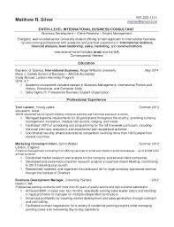 Internship Experience On Resume Zromtk Custom Internship Resume