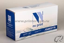 <b>Картридж Xerox 106R02778</b> совместимый | 106R02778 аналог