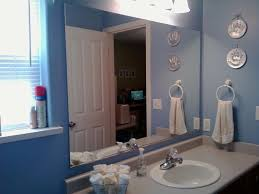 diy bathroom mirror frame. Diy Bathroom Mirror Frame Ideas Glass Three Shelves Attached To The Dark Brown Decoration Vanity