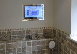 Bathroom mirror tv uk