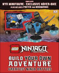 LEGO NINJAGO Build Your Own Adventure Greatest Ninja Battles by DK -  Penguin Books Australia