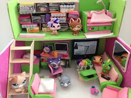 Shoebox Bedroom How To Make A Lps Doll Room Loft Youtube