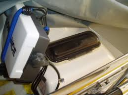 bass boat radio install azbz forums to protect mine from the elements i went a flush mount and a waterproof cover