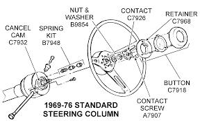 steering wheel diagram view chicago corvette supply wiring diagram 1969 76 standard steering column diagram view chicago corvette 1969 76 standard steering column diagram view