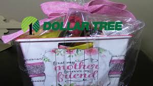 dollar tree diy mother s day spa gift basket
