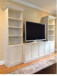 custom wall units entertainment centers long island unit white