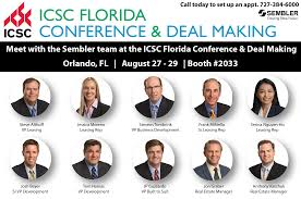 sembler to highlight new developments acquisitions at icsc florida conference