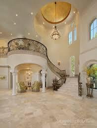 Elegant Staircase mediterranean-staircase