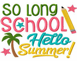 Image result for june school is done clipart