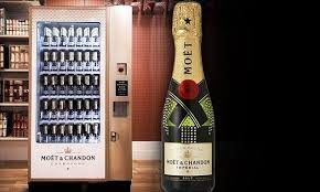 Moet Vending Machine For Sale Fascinating Selfridges Installs World's First Champagne Vending Machine Daily
