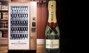 Champagne Vending Machine London Enchanting Selfridges Installs World's First Champagne Vending Machine Daily