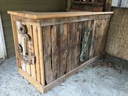 diy bar. Backyard Tiki Bar, Diy, Outdoor Furniture, Living Diy Bar